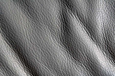 Gray leather as a background photo