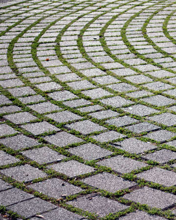 Surface of the cobblestones as the background Stock Photo - 6162715