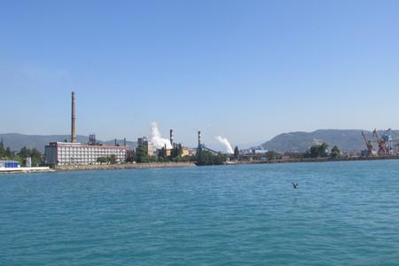 virtuous factory Stock Photo