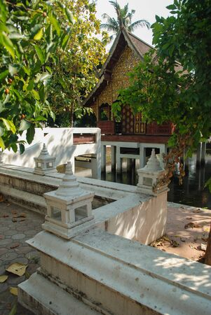 godhead: The ancient Asian Buddhist temple in Thailand