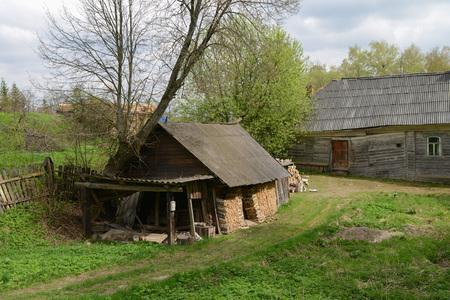 monasteries: Myshkin, one of the oldest Russian city Stock Photo