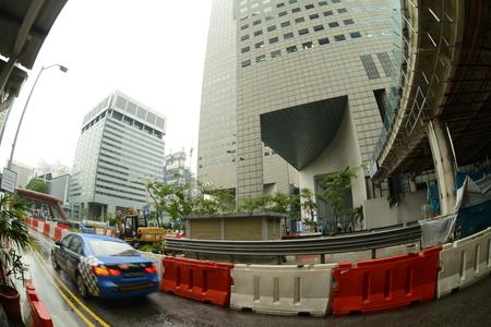 sky scraper: Singapore city, 28.12.2013