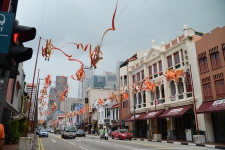 sky scraper: Chinatown, Singapore, 27.12.2013