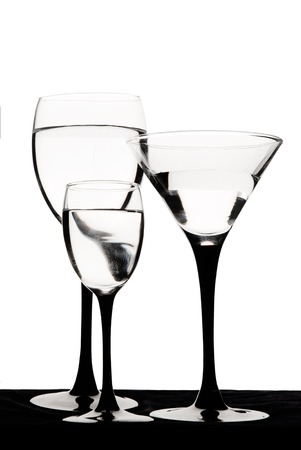 tipple: Wine glasses are ready for the party