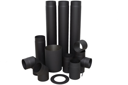 Modern and durable pipes for fireplace