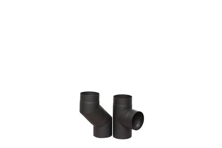 Element of pipe for home fireplace 版權商用圖片