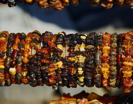 shinning light: amber bracelet on market