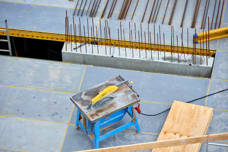 Building site from above