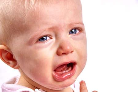 pain by first tooth Zdjęcie Seryjne