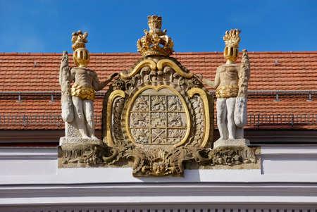 greifswald: university Greifswald sight Stock Photo