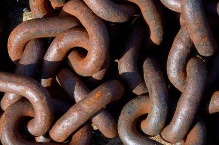 steel: steel chain