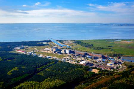 nuclear power station near baltic sea Editorial