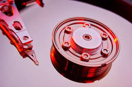 sata: conventional computer harddiskdrive Stock Photo