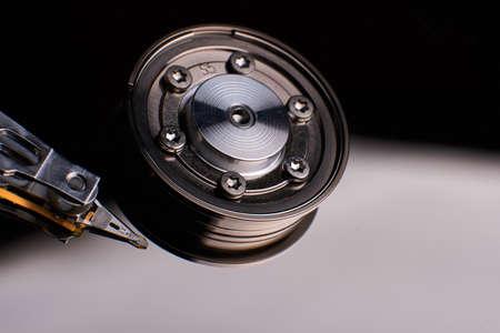 disco duro: unidad de disco duro de la computadora convencional HDD Foto de archivo
