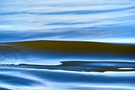 soft waving water in baltic sea