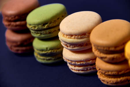 delicious colorfull macarons 版權商用圖片