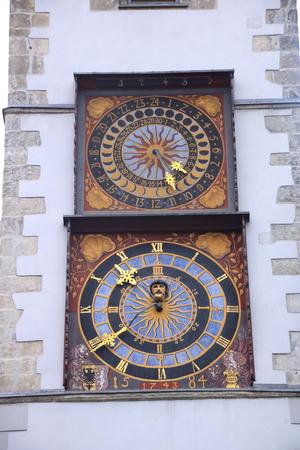 Klokkentoren in de stad van Görlitz