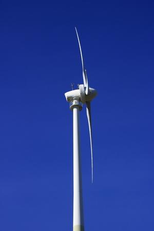 Wind turbine on the green Heiner