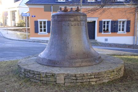bell in annaberg buchholz in saxony