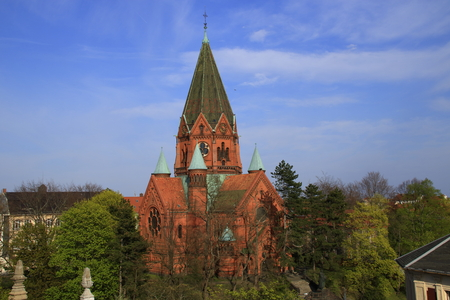 Luther Church in the city of Goerlitz in Saxony in Germany