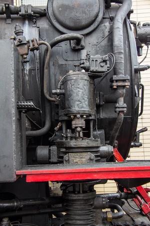 tractive: Nostalgia steam engine Stock Photo
