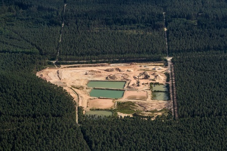 plein: Luftaufnahme   aerial  Stock Photo