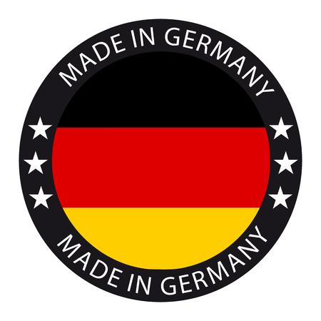 Made In Germany Button Ilustração