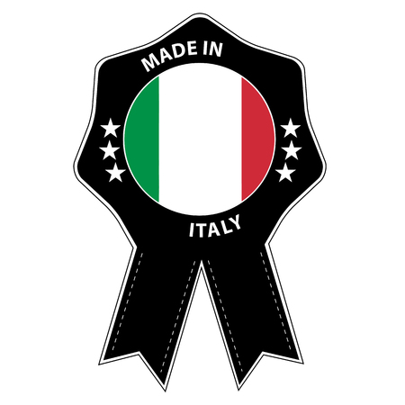 Seal Badge Made In Italy