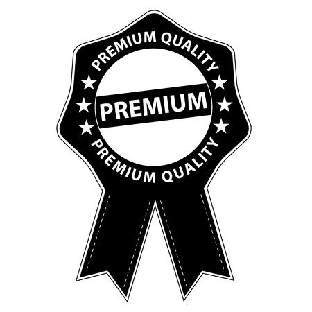 Premium Siegel mit Sternen - Vektor Illustration Illustration