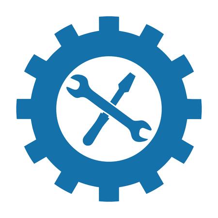 Tool Icon - Vector Illustration - Isolated On White Background Stock Illustratie
