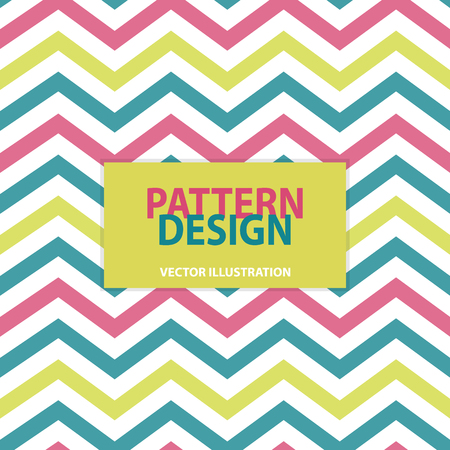 Striped Pattern Design - Vector Illustration - Isolated On Transparent Background