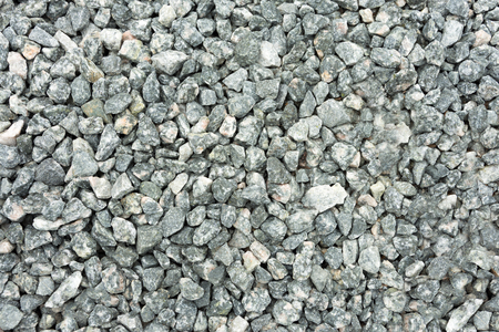 Crushed Gray Stone Texture - Abstract Background Banco de Imagens - 124920470
