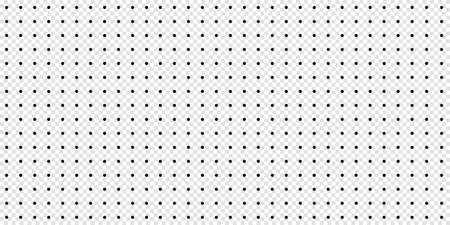 Seamless Polka Dot Pattern Template - Vector Illustration Isolated On Transparent Background 向量圖像