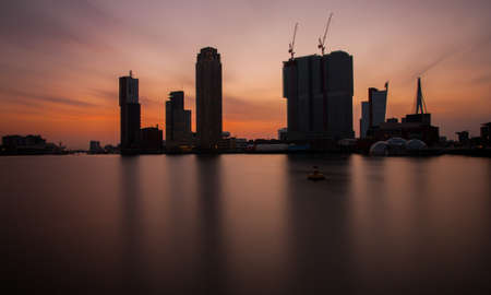 rotterdam: Rotterdam skyline