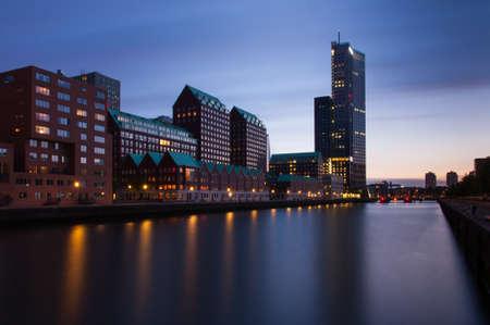 modern architecture of rotterdam photo