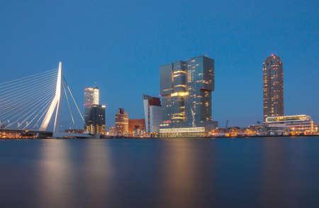 citytrip: skyline of rotterdam