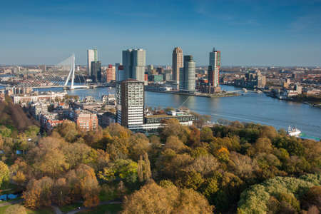 euromast: Rotterdam skyline from euromast