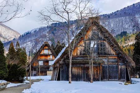 ogimachi: Historical Japanese Villages in winter , Shirakawa-go , japan
