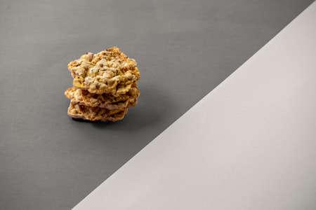 Polenta or cornmeal on luxury nut tree epoxy plank with  green resin