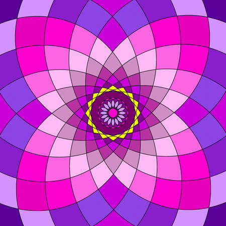 Mandala circular abstract pattern colorful floral kaleidoscopic image background Stock Photo - 13002370