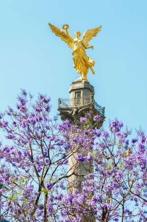 angel de la independencia: El �ngel, Monumento a la Independencia de M�xico