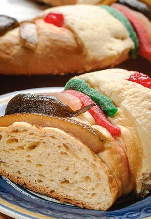 Epiphany Kuchen Konige Kuchen Rosca De Reyes Mit Weissem