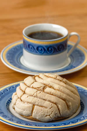 Concha sweet bread traditional bakery of Mexico
