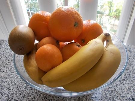 Glass fruit bowl backlight