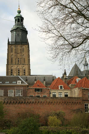 Zutphen medieval fortified picturesque town in Netherlands.  Stock Photo - 3671555