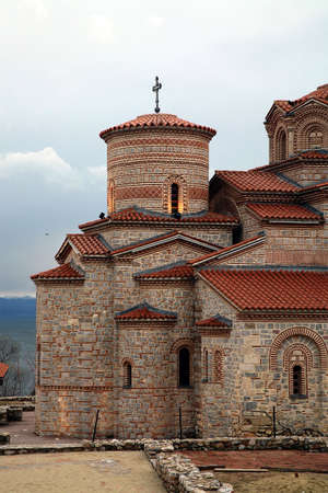 clement: St. Clement Church in Ohrid, Macedonia