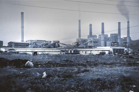 imminence: La destrucci�n del medio ambiente. El progreso de la civilizaci�n, la actividad humana. Industria pesada y el medio ambiente.