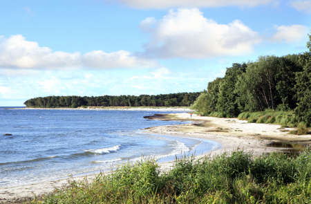 Berühmte Strände in Süd Bornholm Island - Snogebaek, Dänemark