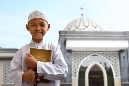 Asian muslim kid