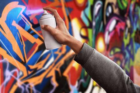 Graffitikunstenaar Stockfoto